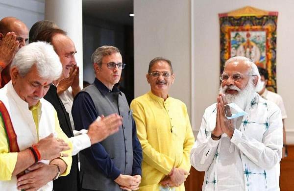 Delimitation exercise in J&K has to happen quickly so that polls take place, says PM after all-party meet
