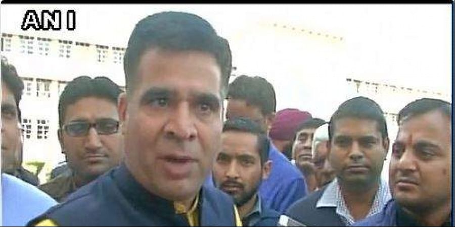 BJP chief of Jammu and Kashmir unit, Ravinder Raina