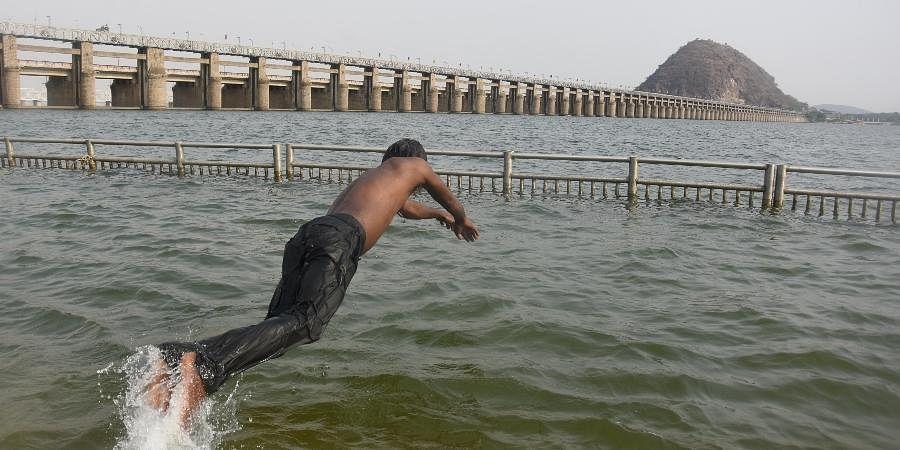 Krishna River representational image