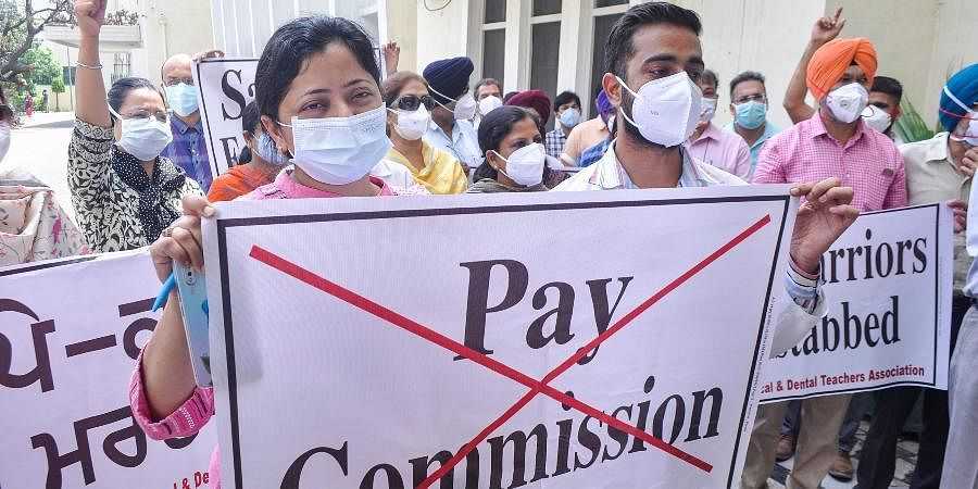 Punjab_doctors_strike_against_6th_pay_commission