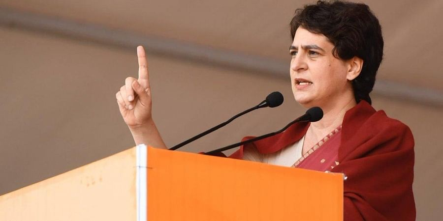 AICC general-secretary Priyanka Gandhi Vadra