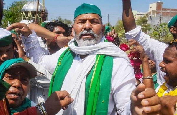 Samyukt Kisan Morcha will oppose BJP in Uttar Pradesh assembly polls, says farmer leader Rakesh Tikait