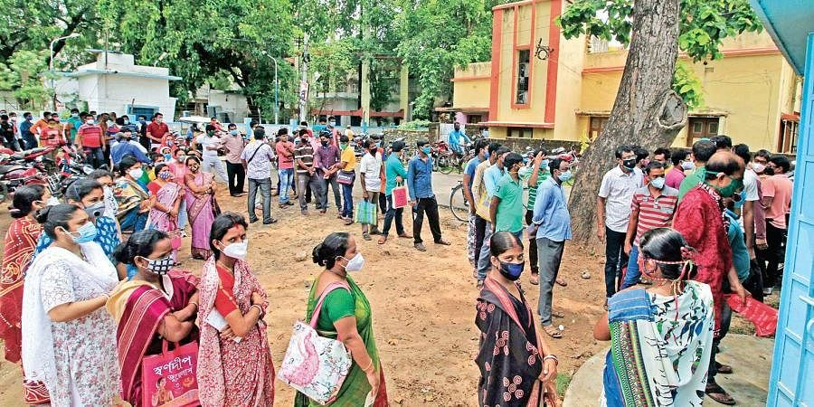 Vaccination in non-metro cities has been a problematic proposition for recipients, as seen in West Bengal's Birbhum district.