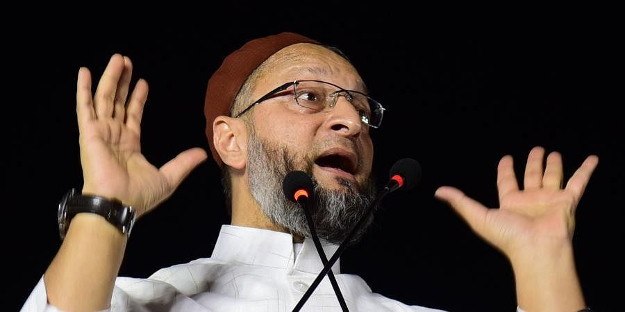 BJP MLA Surendra Singh called AIMIM chief Asaduddin Owaisi 'a political terrorist'.