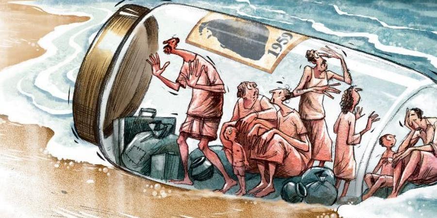 sri lankan refugees tamil refugees