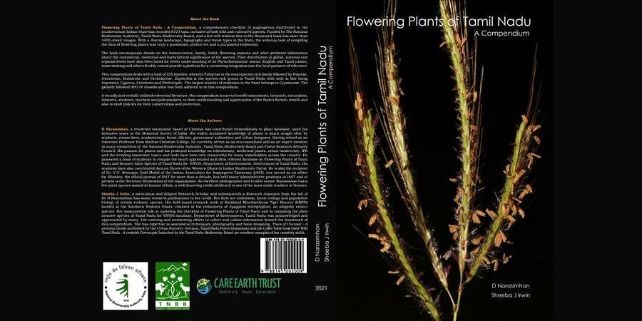 Flowering Plants of Tamil Nadu: A Compendium