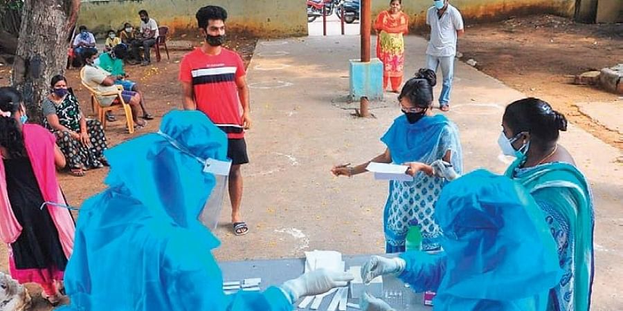 Drop in new Covid-19 cases continues in Andhra Pradesh- The New Indian Express