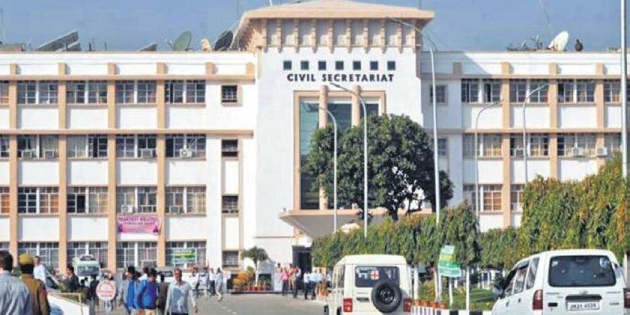Civil Secretariat in Srinagar