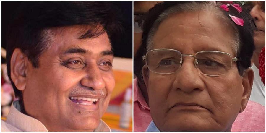 Rajasthan ministersGovind Singh Dotasra (L) & Shanti Dhariwal