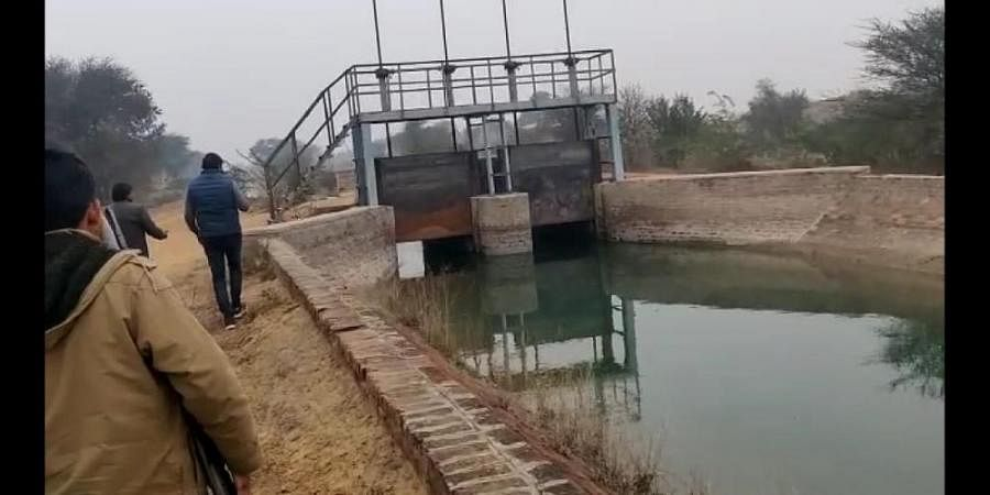 Indira Gandhi canal in Rajasthan's Hanumangarh district