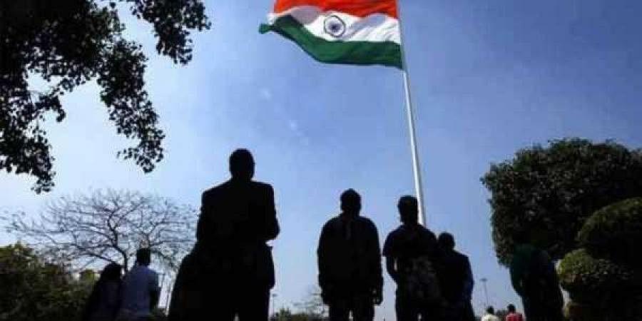 national anthem, Indian flag