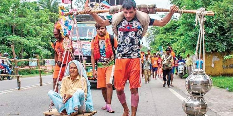 The state government had cancelled the Kanwar yatra last year.