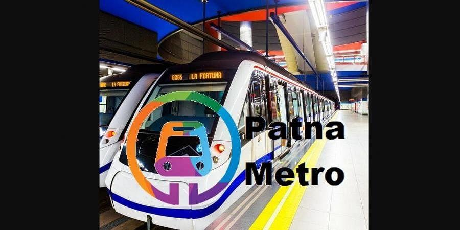 Patna metro rail project (Photo | Patna metro rail project, Twitter)