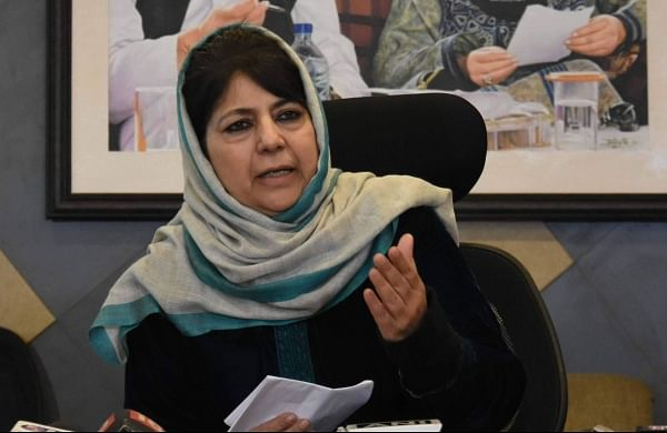 'We are talking to China which has occupied our land':Mehbooba Mufti wants Indo-Pak talks