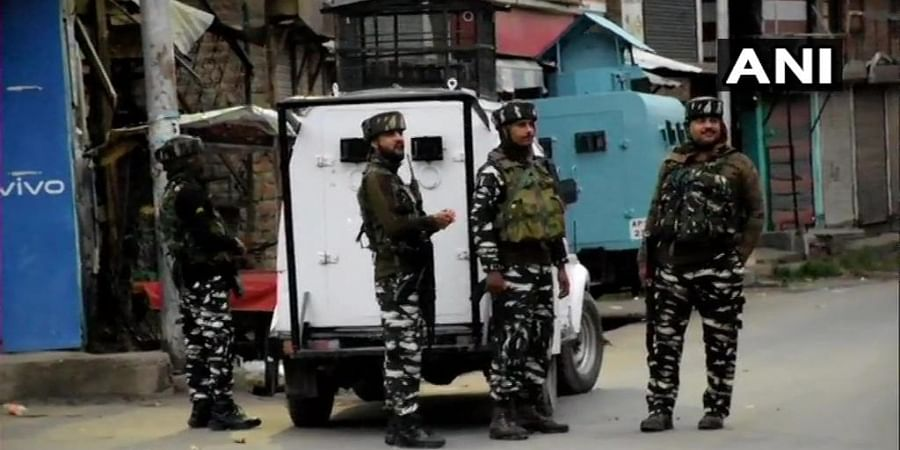 IGP Kashmir Vijay Kumar said two of the three militants killed were locals and another was a Pakistani militant Aijaz alias Abu Huraira. (Photo | ANI)