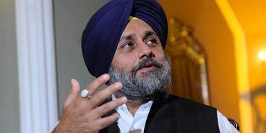 SAD chief Sukhbir Singh Badal.