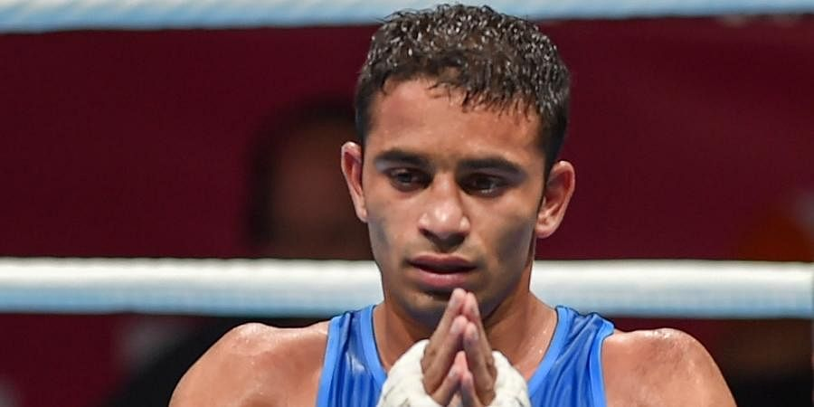 AMIT PANGHAL (52kg): This flyweight is shouldering expectations that would be enough to bog down a super heavyweight in some cases.