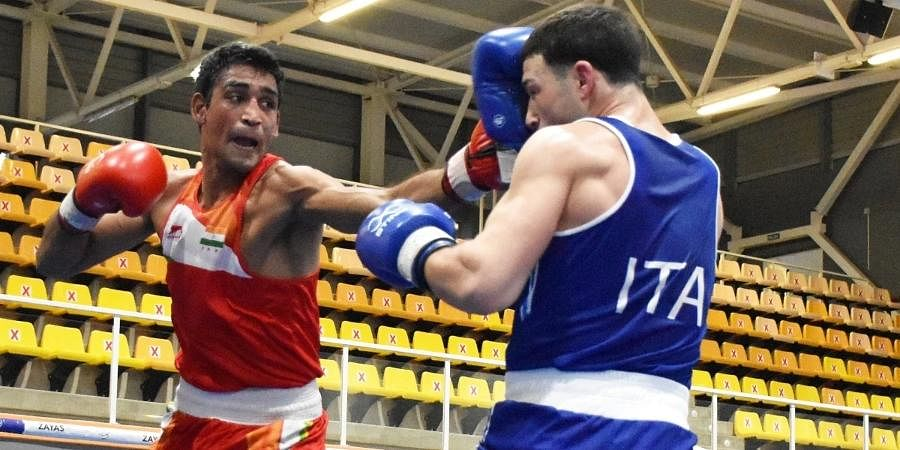 ASHISH KUMAR (75kg): The gritty customer from Himachal Pradesh's Sundar Nagar. He made the cut for Tokyo, a month after losing his father last year.