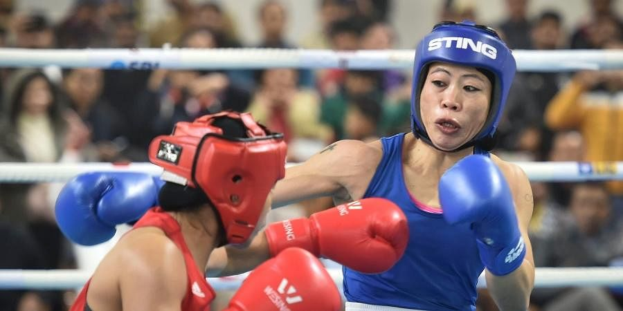 MC MARY KOM (51kg): If there is a name in Indian boxing which needs no introduction, it is Mary Kom. This 38-year-old icon would be eyeing a second Olympic medal, something that puts her heads and shoulders above all else in the Indian team. A six-time world champion, her achievements and medals have become a bit difficult to keep count of. And the astonishing part, the Manipuri isn't showing any signs of slowing down. The ring is quite literally her playground and it has remained so for more than two decades now. Among the sharpest movers in the ring at the peak of her prowess, Mary Kom is, however, candid enough to admit that she has slowed down but to make up for that, she has worked on adding more muscle and thereby more power to her punches. It remains to be seen how she handles the younger competition which awaits her at the Games. She is fittingly one of the two flag-bearers of the Indian contingent and has sharpened her hook to make sure that nobody takes her lightly.
