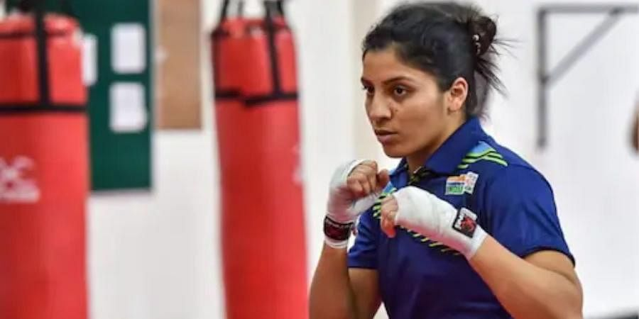 SIMRANJIT KAUR (60kg): A powerhouse of talent from Punjab's Chakar village in Ludhiana, the 26-year-old lost her daily wager father in 2018, four months before she picked up her maiden world championship medal.