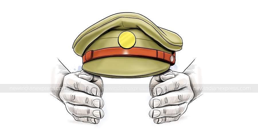 Police hat, Representational Image