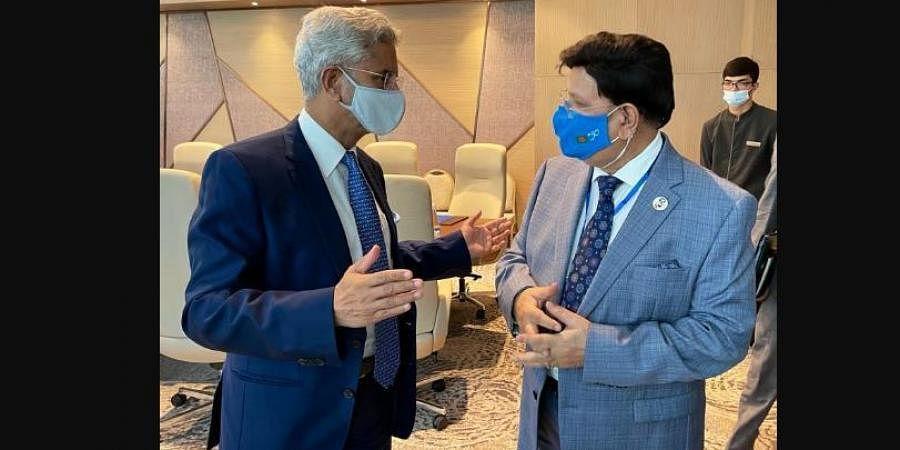 External Affairs Minister S Jaishankar's meeting with his Bangladeshi counterpart AK Abdul Momen