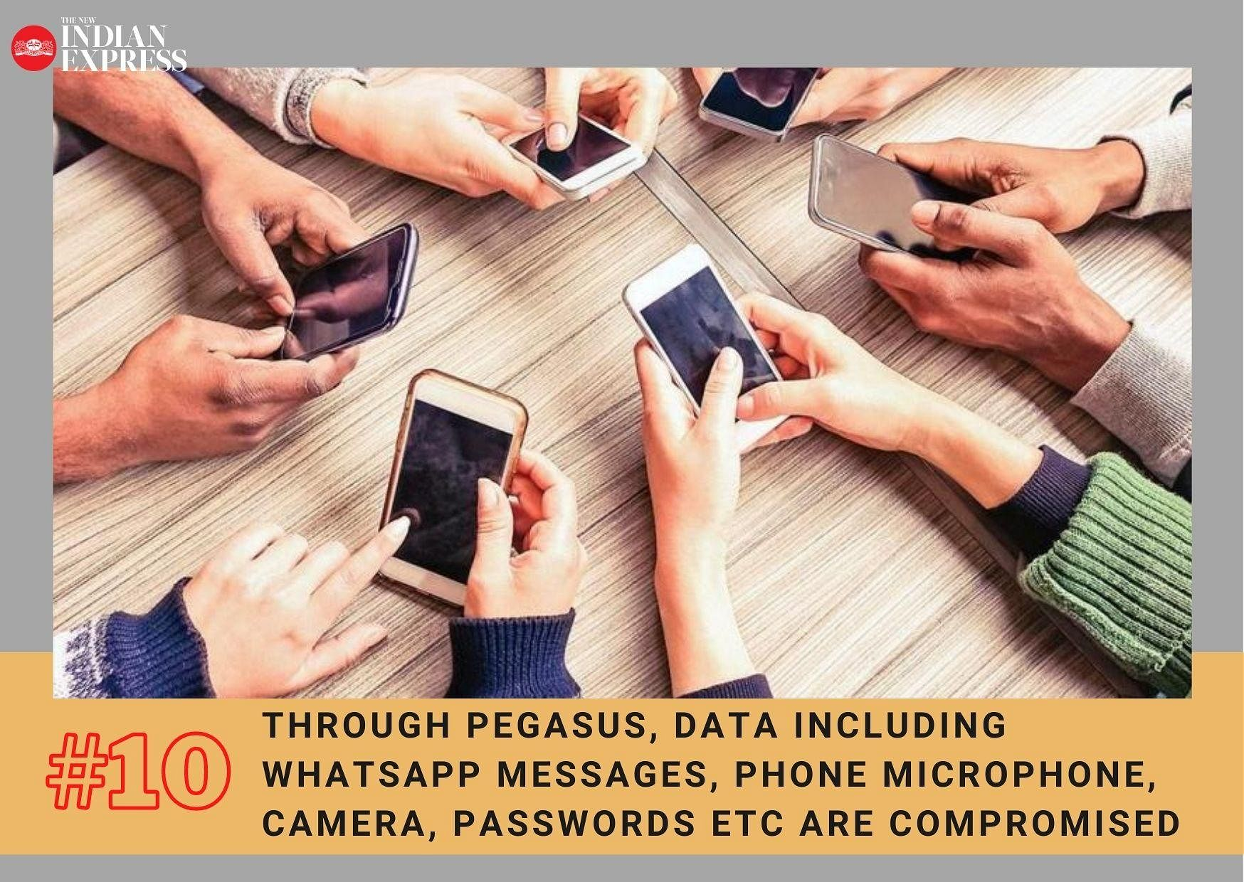 According to multiple media reports, users are unlikely to notice Pegasus infiltrating their device.