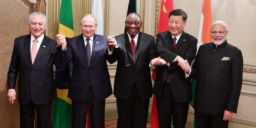 An informal BRICS Leaders' Meeting on the Margins of the G20 Summit