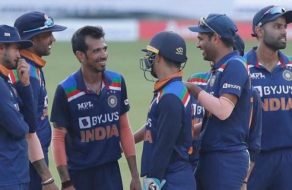Virat Kohli and boys cheer for Shikhar Dhawan-led team India during win against Sri Lanka