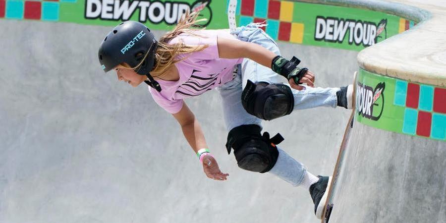 13-year-old skateboarder Sky Brown