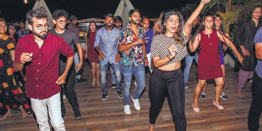 . Dance socials are gaining popularity in Hyderabad, with many hangouts in the city hosting them.