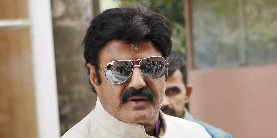 Tollywood actor Nandamuri Balakrishna