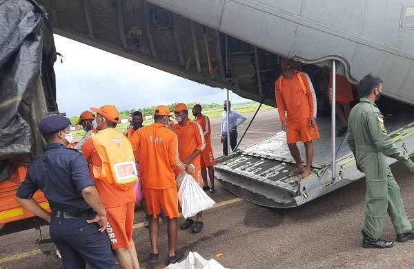 8 NDRF teams from Odisha leave for rain-hit Maharashtra, Goa for rescue operations
