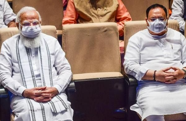 PM Modi asks BJP MPs to expose opposition for not allowing Parliament to function
