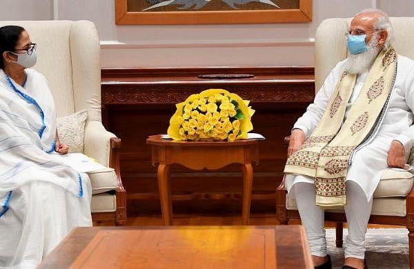 West BengalCMMamata Banerjee meets PM Narendra Modi