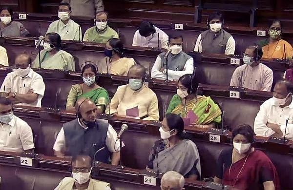 Rajya Sabha Juvenile Justice Bill passed amidOpposition protests over Pegasus, farm laws