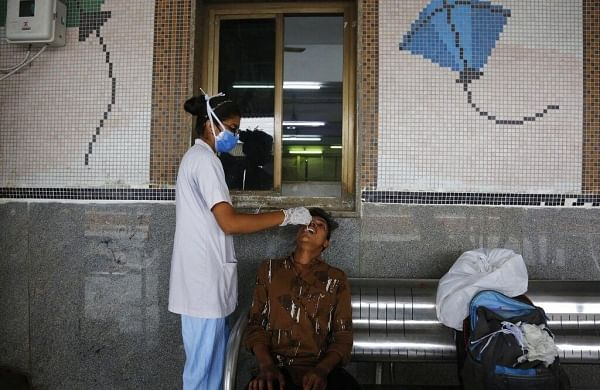 India adds 43,509 Covid cases in 24 hours, tally increases for second consecutive day