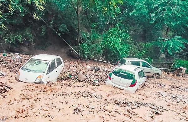 Nine killed as rain triggers flash flood in Himachal, seven missing