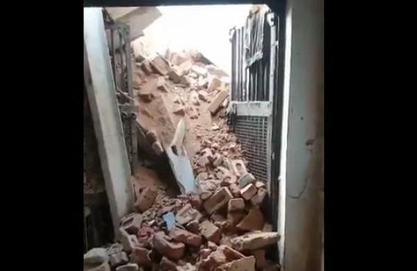 22 prisoners injured as barrack wall collapses in Bhind district jail- The New Indian Express