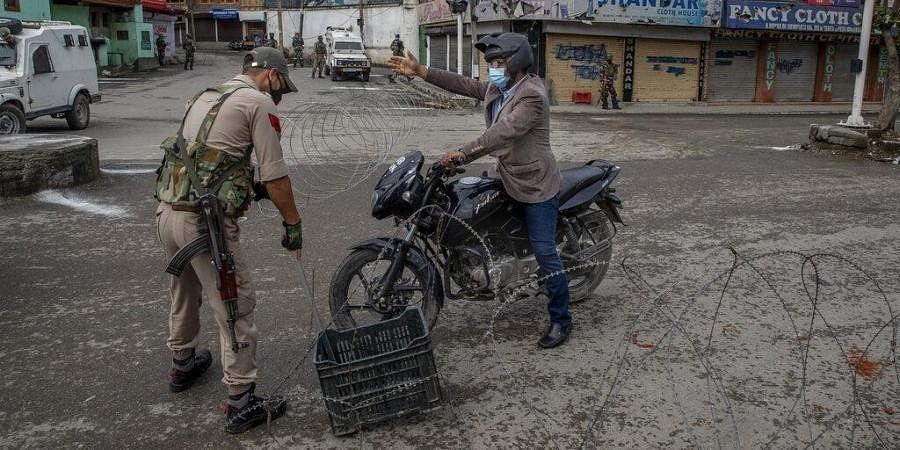 Kashmir Lockdown