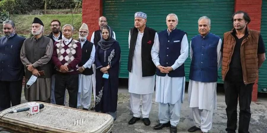 People's Alliance for Gupkar Declaration leaders