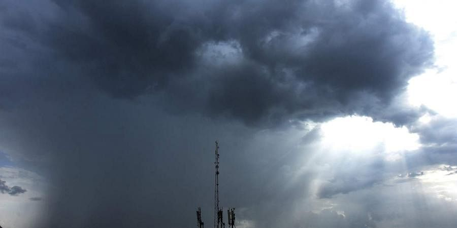 monsoon rain clouds