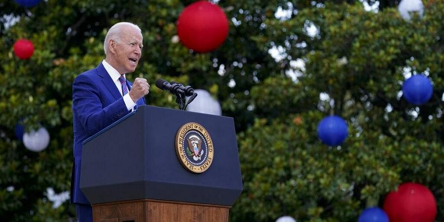 """""""As Vibrant Democracies…"""": PM's Tweet For Biden On US Independence Day"""