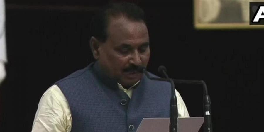 Five-time MPBhanu Pratap Singh Verma takes oath as Union minister