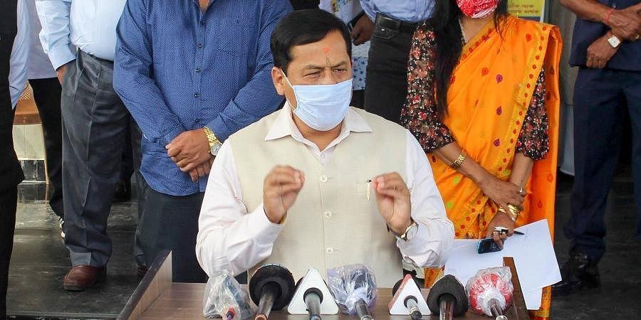 Union Minister Sarbananda Sonowal