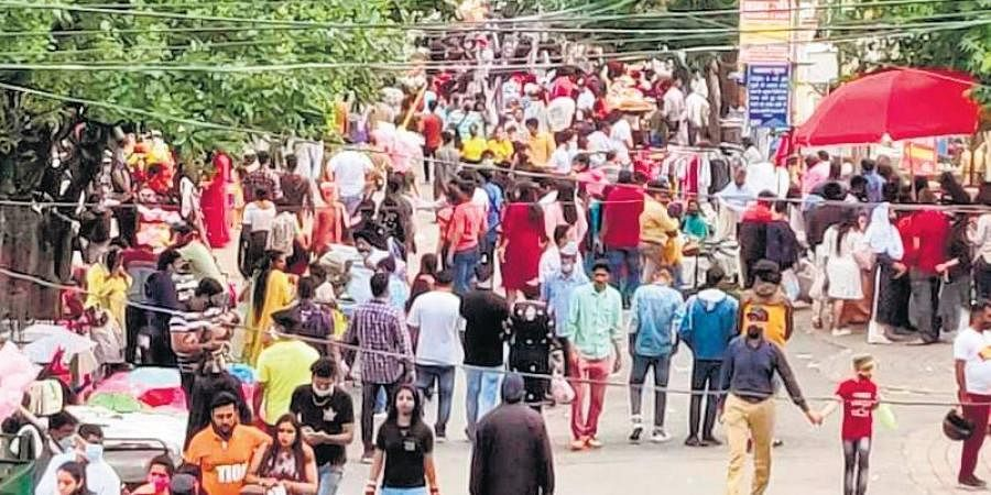 Over 10,000 people visited Nainital and Mussoorie last weekend.