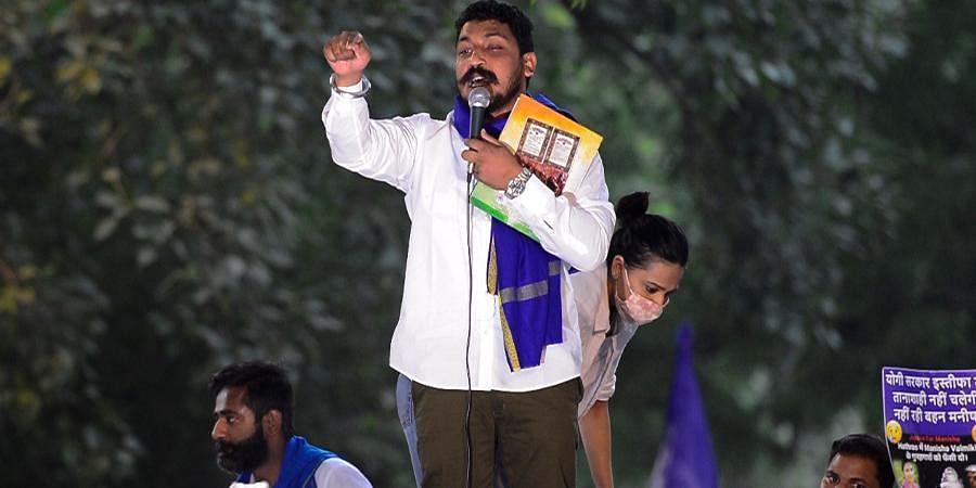Azad Samaj Party chief Chandrashekhar Azad