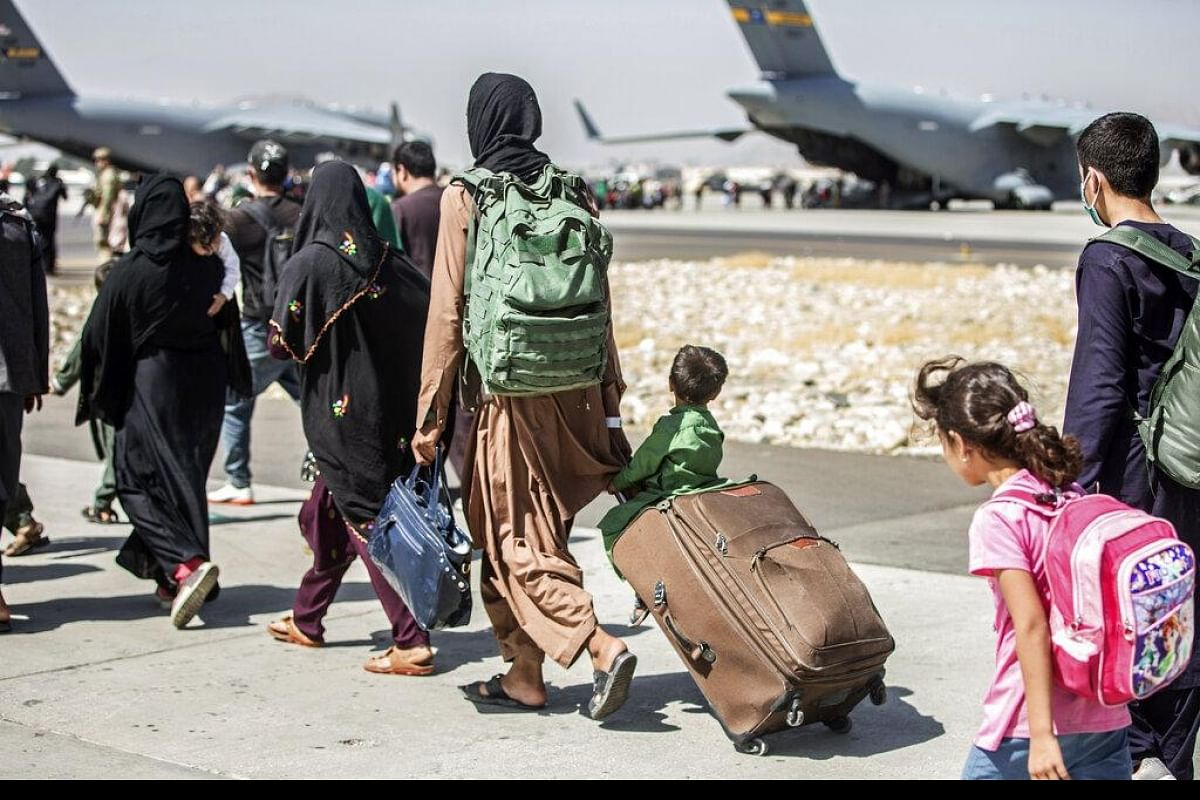 Afghanistan crisis: Taliban largely seal off Kabul airport as airlift winds down- The New Indian Express