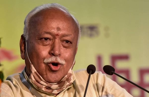 RSS chief Mohan Bhagwat arrives in Gujarat on 3-day visit