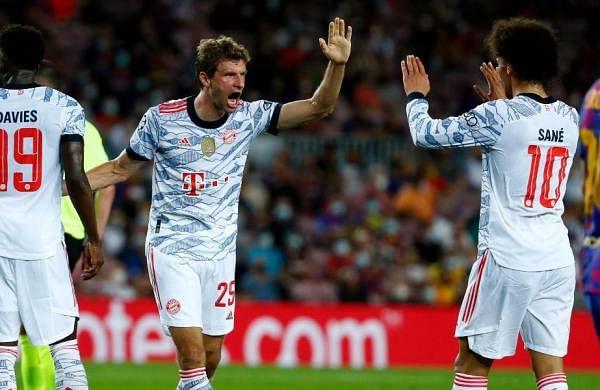 Barcelona win sendsvery important signal, says Bayern'sThomas Mueller